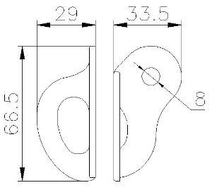CLIMBING TECHNOLOGY 8mm rozsdamentes nittfül