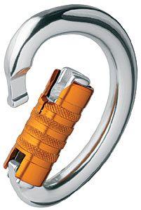 PETZL Omni Triact Lock bajonettes D maillon