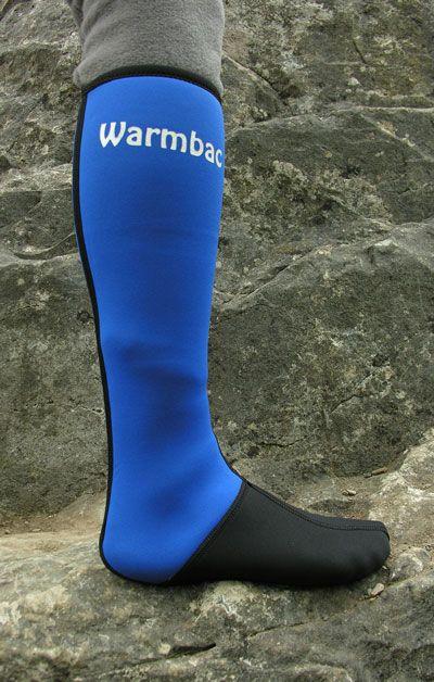 WARMBAC hosszú szárú neoprén zokni