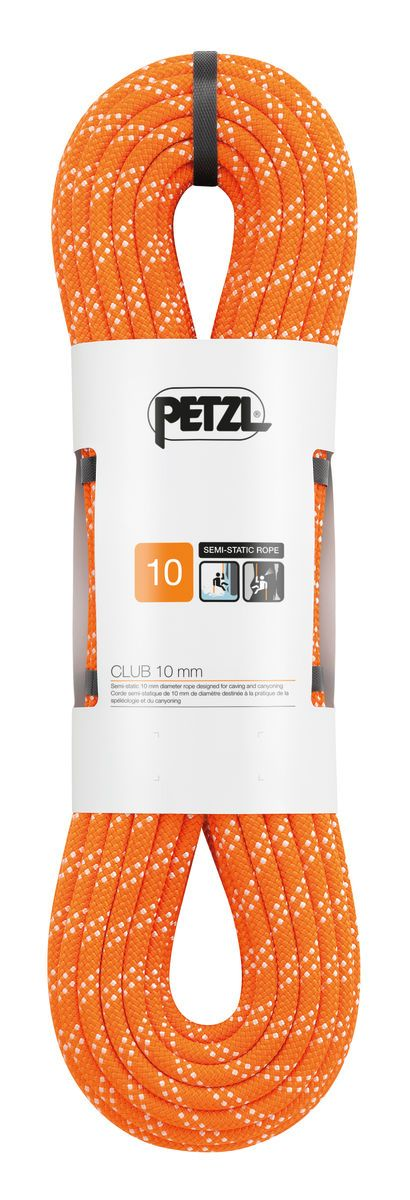 PETZL Club statikus kötél 10mm narancs