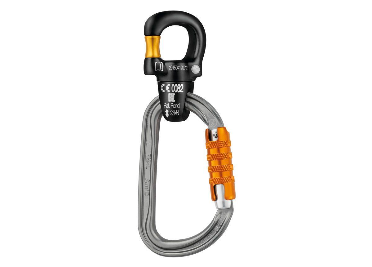 PETZL Microswivel nyitható kötélkipörgető