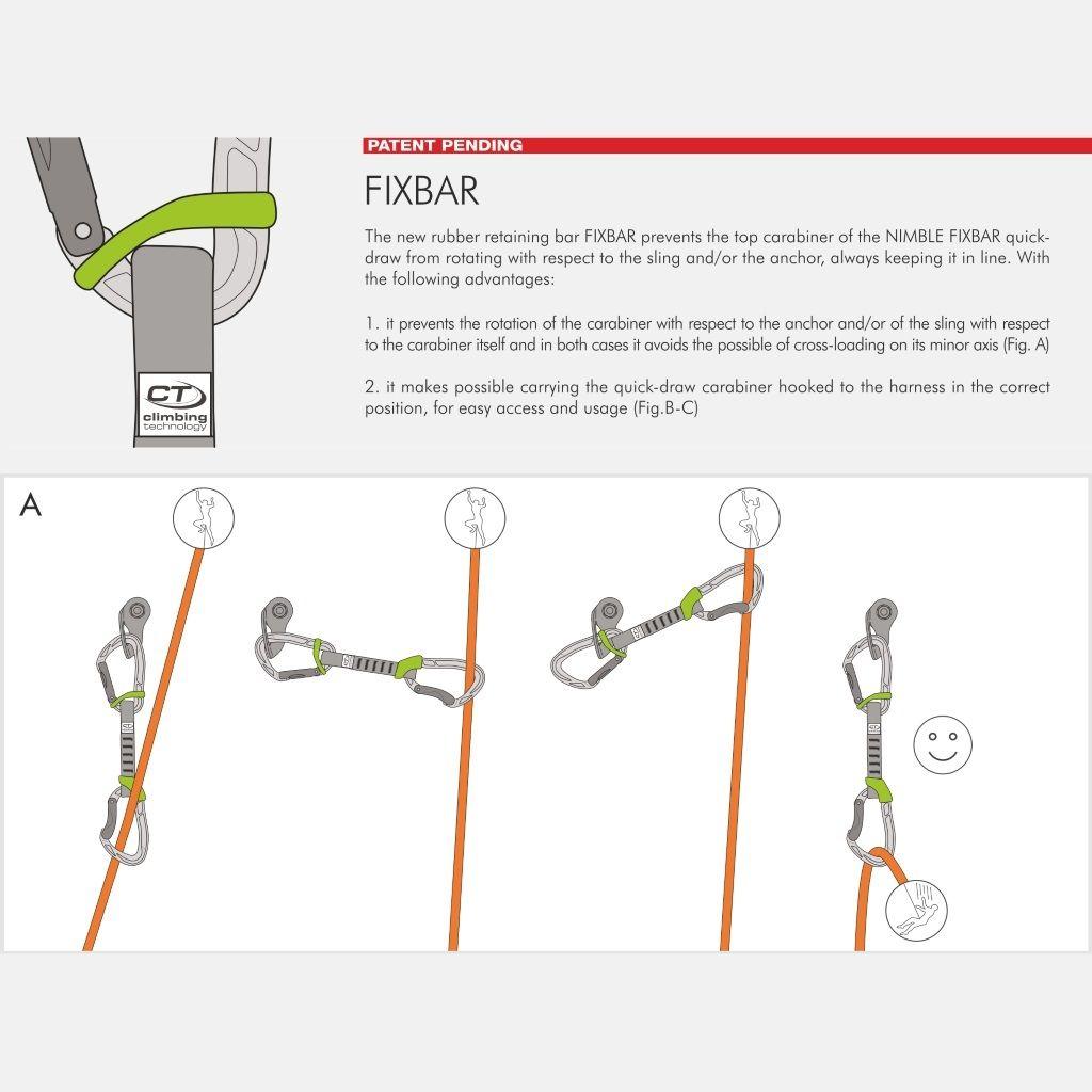 CLIMBING TECHNOLOGY Nimble Fixbar köztes NY 12cm