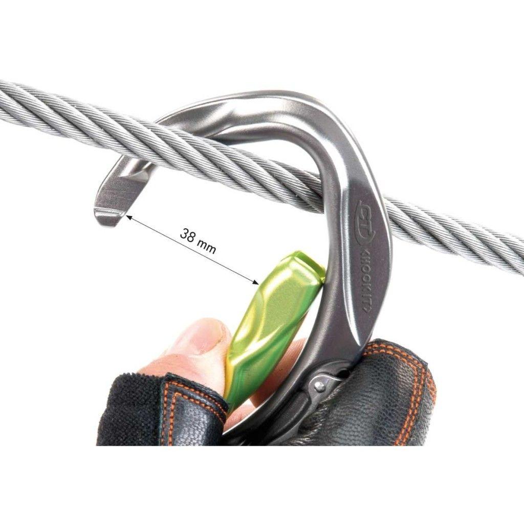 CLIMBING TECHNOLOGY Hook-IT Slider via ferrata kantár