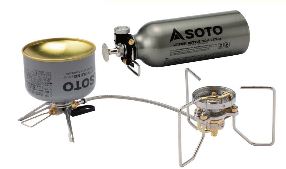 SOTO Storm Breaker gáz és benzinfőző
